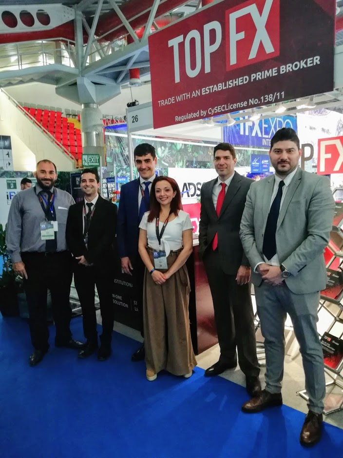 The TopFX team at iFX Expo!