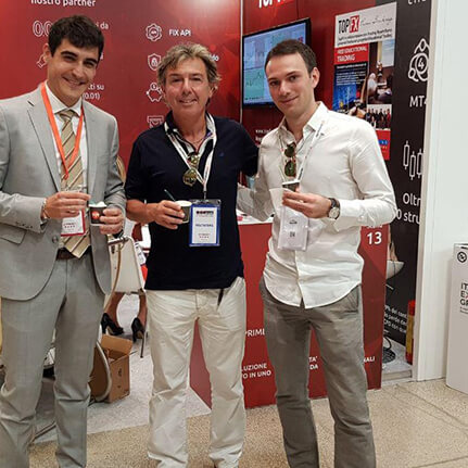 The Head of Global Sales, Constantino Zenonos and TopFX Partners